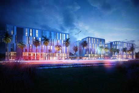 Bürokomplex LIDCO, BAB Zone 9, Tripolis, Libyen