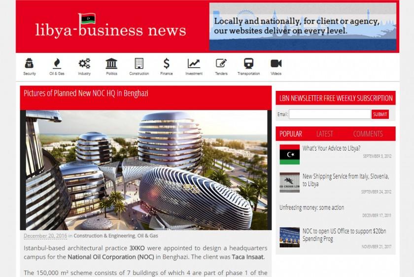 Libya Business News   December 2016