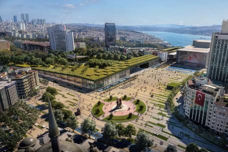 Taksim Square  & Gezi Park, Istanbul, Turkey